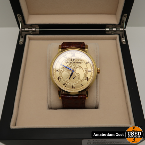 Olivier Bruyneel Elegant Goud Herenhorloge | in Nieuwstaat