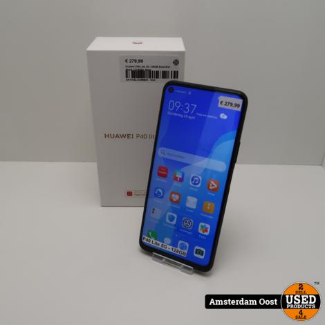 Huawei P40 Lite 5G 128GB Dual-Sim Black | in Nette Staat