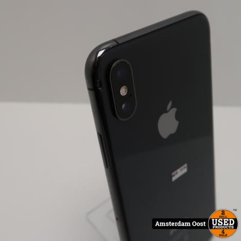 iPhone XS 64GB Space Gray | in Gebruikte Staat | Klein barstje achterkant