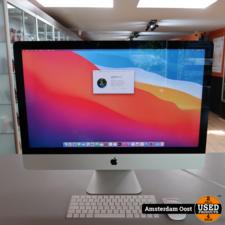Apple iMac 27 2019 5K i5/8GB/1TB Fusion   in Nieuwstaat met Bon