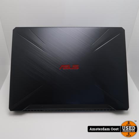 Asus TUF FX505DY Ryzen 5/8GB/256GB SSD Gamelaptop | in Zeer Nette Staat