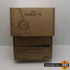Jabra Evolve 75 UC Stereo Draadloze Office Headset + Charging Stand | Nieuw in Doos