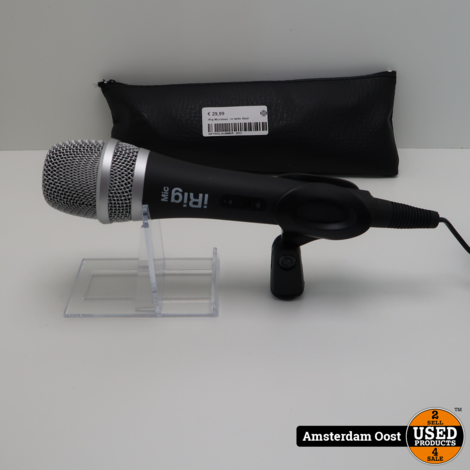 IK Multimedia iRig Microfoon   In Nette Staat