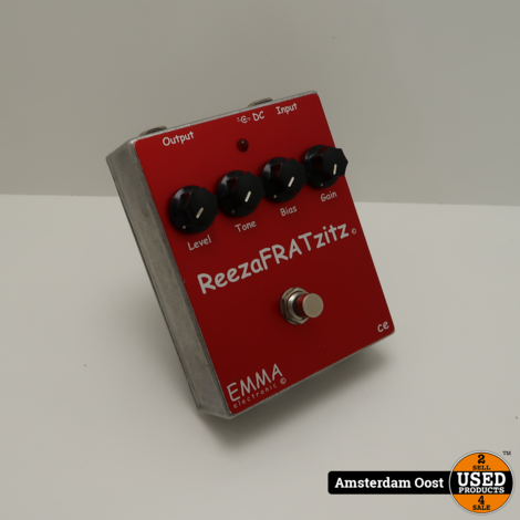 Emma Electronic ReezaFRATzitz Effectpedaal | in Prima Staat