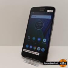 Motorola Moto G5 Plus 32GB Dual-Sim Black   in Redelijke Staat