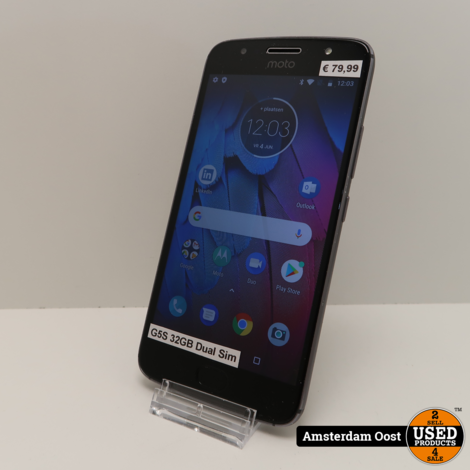 Motorola Moto G5S 32GB Dual-Sim Black | in Prima Staat