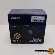 Canon Powershot SX430 IS 20MP Systeemcamera | Nieuw in Doos