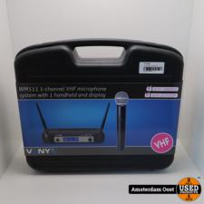 Vonyx WM511 1 Kanaals VHF Draadloze Microfoon | Nieuw in Koffer