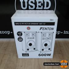 Fenton SPB-10 PA Actieve BT Speakerset 600W | Nieuw in Doos