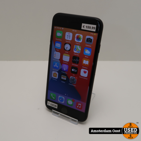 iPhone 7 32GB Black   in Prima Staat