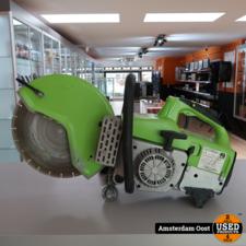 Zipper ZI-BTS350 Betonzaagmachine   in Nette Staat