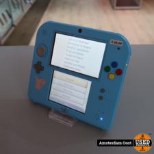Nintendo 2DS Light Blue Pokemon Editie   in Prima Staat