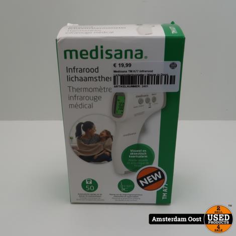 Medisana TM A77 infrarood Lichaamstermometer | Nieuw in Doos