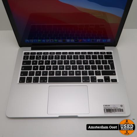 Apple Macbook Pro 13 Mid 2014 i5/8GB/128GB SSD | in Redelijke Staat