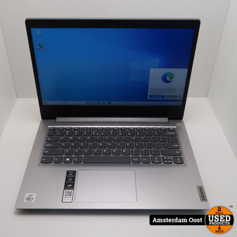 Lenovo iDeapad 3 i3/8GB/256GB SSD Laptop   in Goede Staat