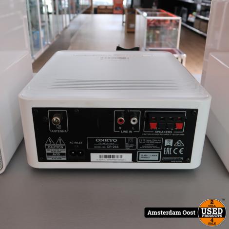 Onkyo CR-265 2.0 Micro Hifi Set   in Prima Staat