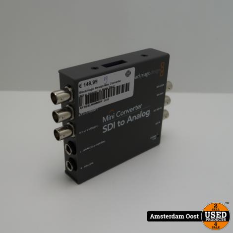 Blackmagic Design Mini Converter SDI to Analog | in Nette Staat