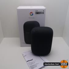 Google Nest Audio Charcoal Smart Speaker   Compleet in Doos
