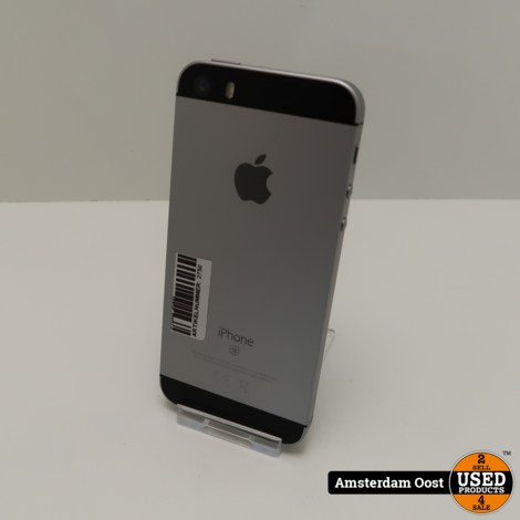 iPhone SE 32GB Space Gray   in Prima Staat