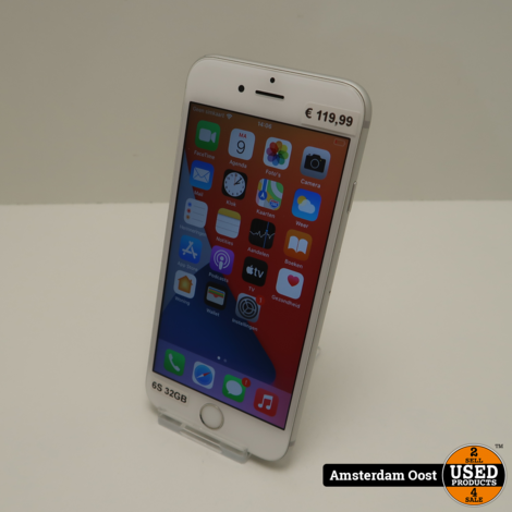 iPhone 6S 32GB Silver   in Nette Staat