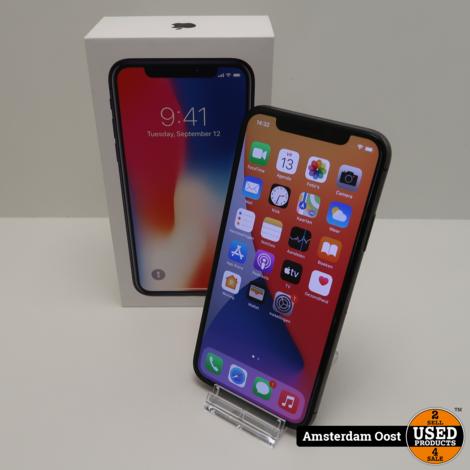 iPhone X 64GB Space Gray   met een Defect   Geen Garantie