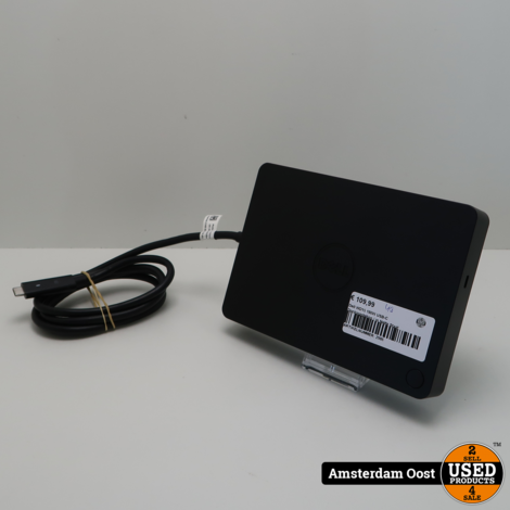 Dell WD15 180W USB-C Dockingstation   in Nette Staat