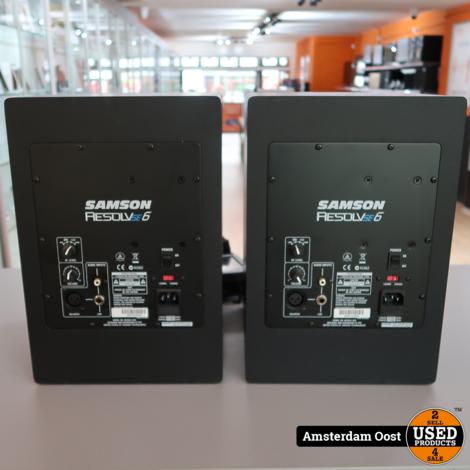 Samson Resolve SE6 Actieve Studio Monitoren Set | in Zeer Nette Staat