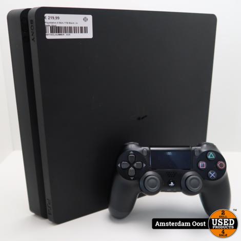 Playstation 4 Slim 1TB Black | in Nette Staat
