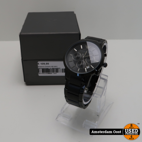 Emporio Armani AR-2453 Herenhorloge | in Nieuwstaat