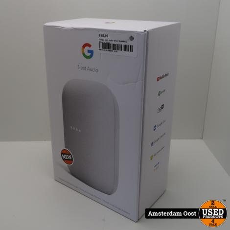 Google Nest Audio Smart Speaker | Nieuw in Doos