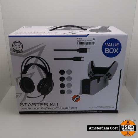 Qware PS5 Starter Kit | Nieuw in Seal met Bon