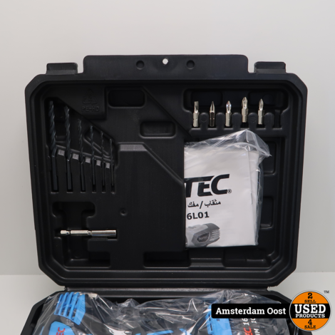 Fixtec FCD16L01 16V Accuboormachine | Nieuw in Doos
