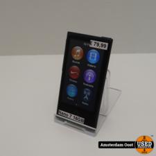 iPod Nano 7th Gen 16GB Black   in Gebruikte Staat