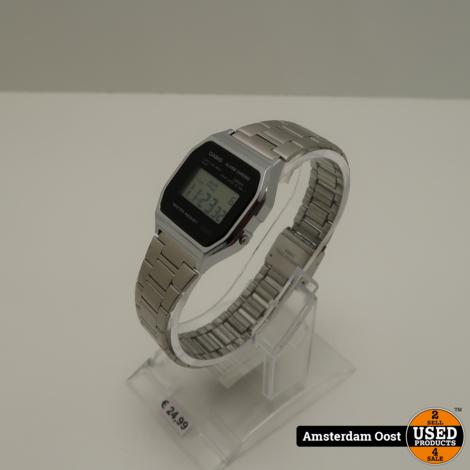 Casio A158WEA-1EF Digitaal Horloge   in Nette Staat