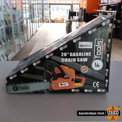 F Tools 52cc Benzine Kettingzaag | Nieuw in Doos