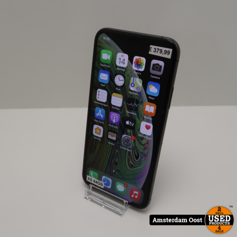 iPhone XS 64GB Space Grey | in Nette Staat