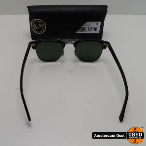 Ray-Ban RB 3016 Clubmaster Zonnebril | in Nette Staat