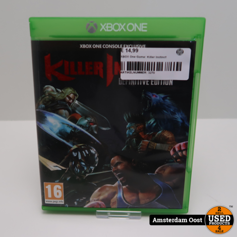 XBOX One Game: Killer Instinct