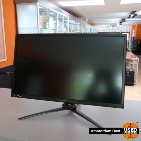Acer Predator XB3 XB273K 4K Gaming Monitor   Compleet in Doos