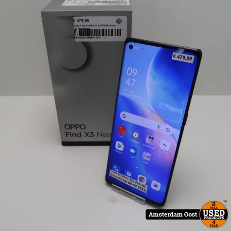 Oppo Find X3 Neo 5G 256GB DualSim   in Nieuwstaat