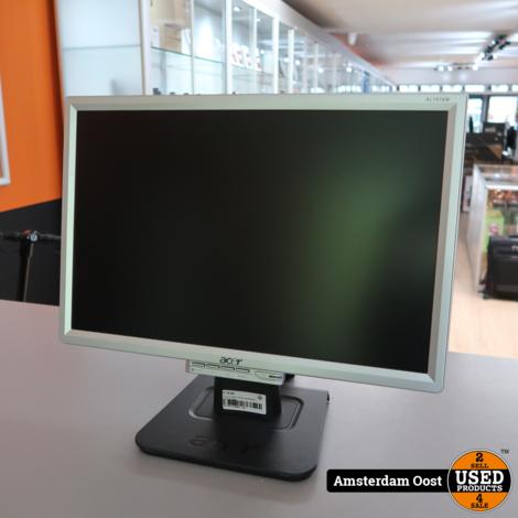 Acer AL1916W 19-inch VGA Monitor | in Prima Staat
