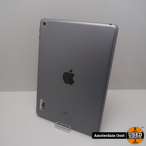 iPad 5th 2017 32GB Wifi Space Gray   in Nette Staat