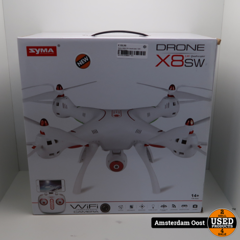 Syma X8SW FPV Quadcopter 720P   Nieuw in Doos