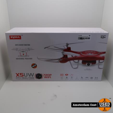 Syma X5UW FPV 720P QuadCopter | Nieuw in Doos