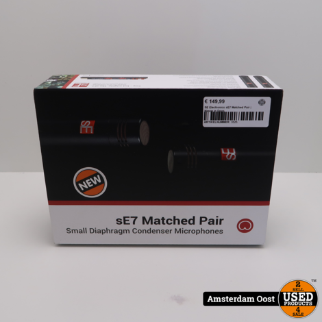 SE Electronics sE7 Matched Pair   Nieuw in Doos