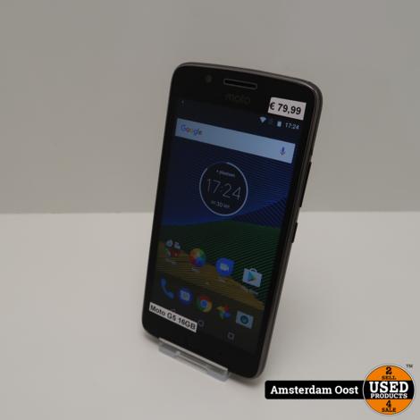 Motorola Moto G5 16GB Black   in Prima Staat