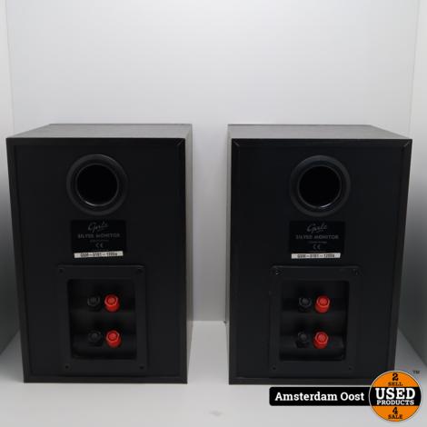 Gale Silver Monitor Speaker set | In Nette Staat