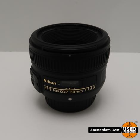 Nikon AF-S 50mm 1:1.8 G Lens | in Nette Staat
