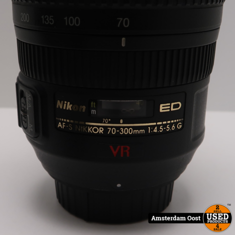 Nikon AF-S 70-300mm f/4.5-5.6G ED IF VR   In Nette Staat