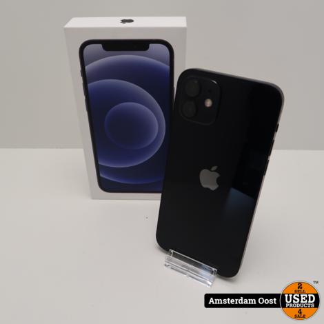 iPhone 12 128GB Black | in Nieuwstaat met Apple Garantie